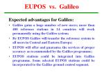 eupos vs galileo