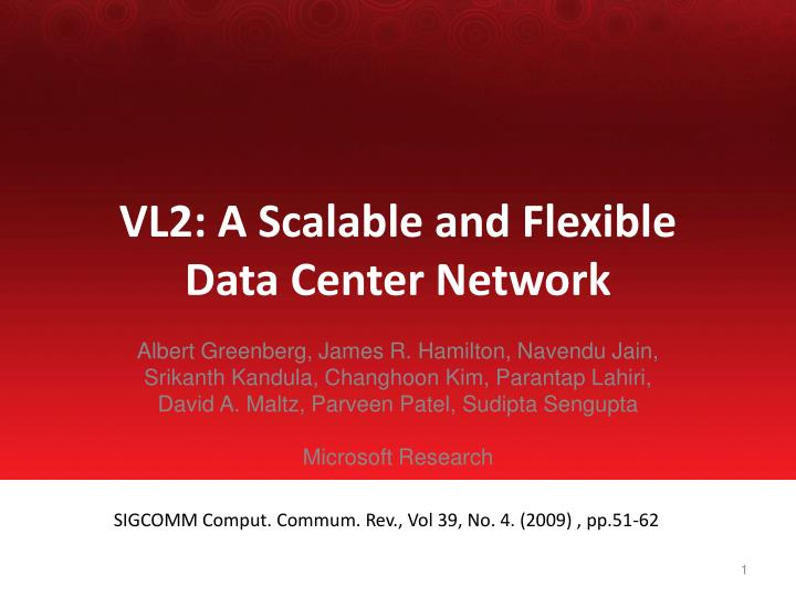 vl2 a scalable and flexible data center network n.