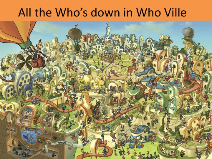 All the Who's down in Who Ville