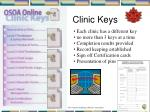 clinic keys
