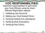 coc responsibilities1