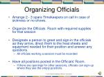 organizing officials1
