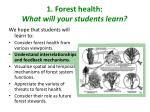 1 forest health what will your students learn1