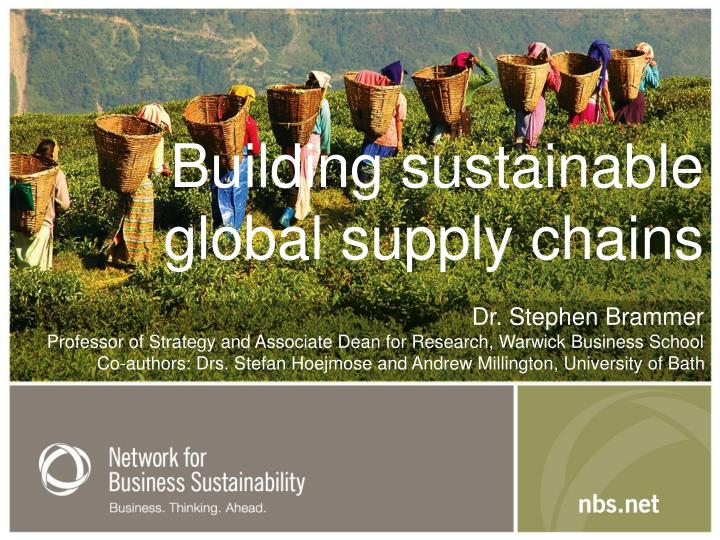 Building sustainable