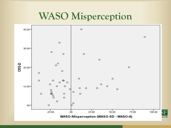 WASO Misperception