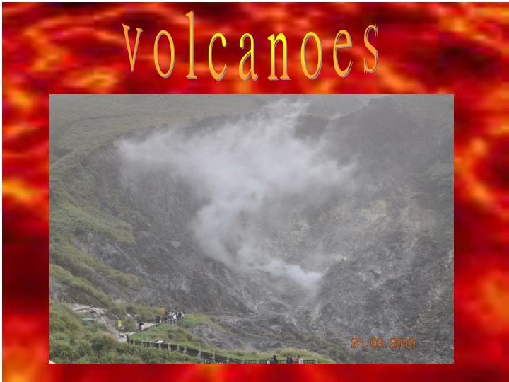 PPT - Volcanoes hotspring waterfall PowerPoint Presentation - ID:2417342