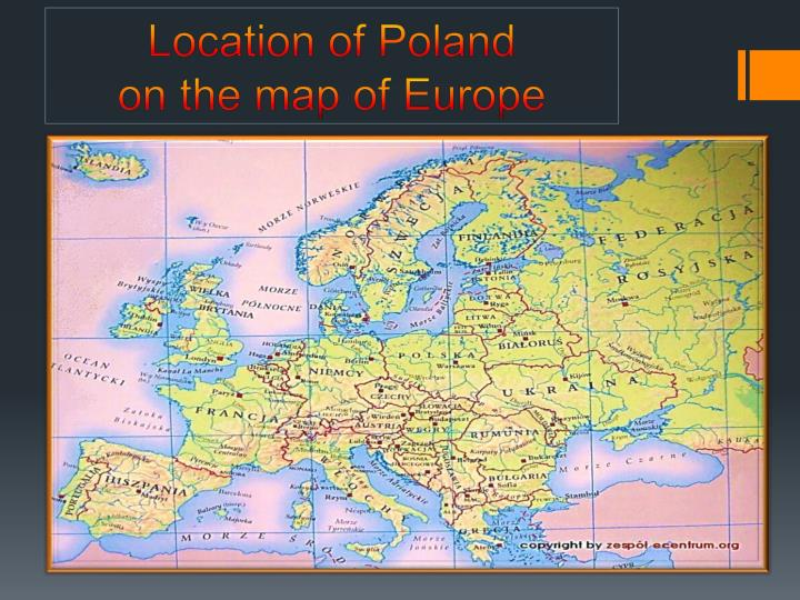 PPT Poland Zabrze And Our School PowerPoint Presentation ID - Zabrze map