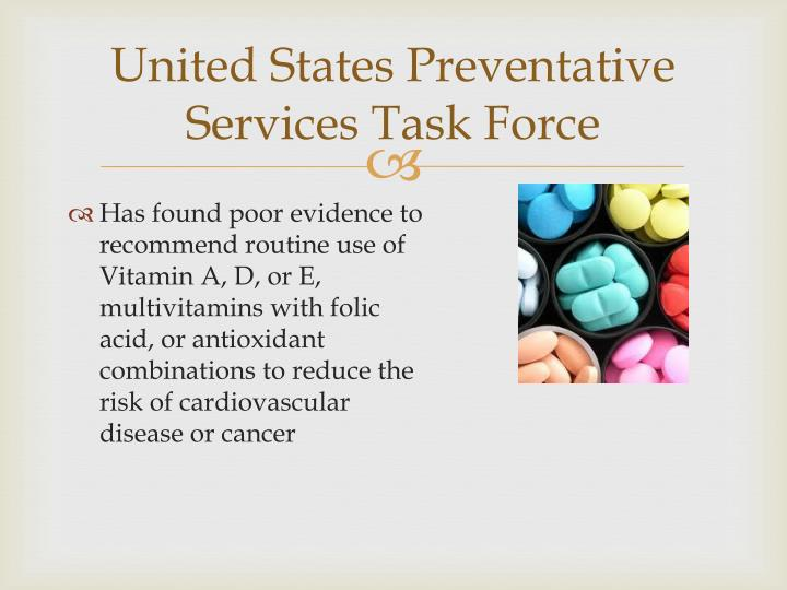 United States Preventative Services Task Force