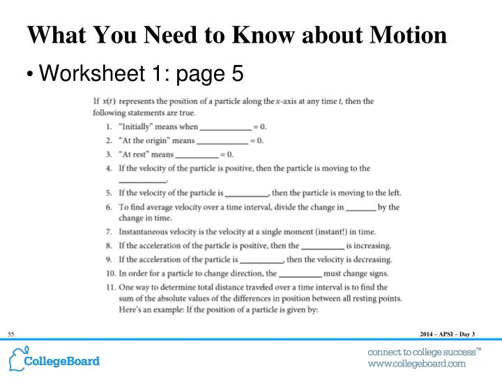 What You Need to Know about Motion