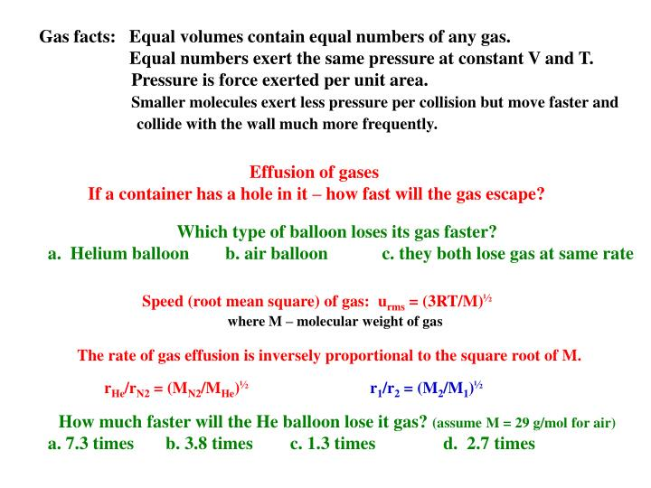 PPT 11 Gases PowerPoint Presentation ID 2418246