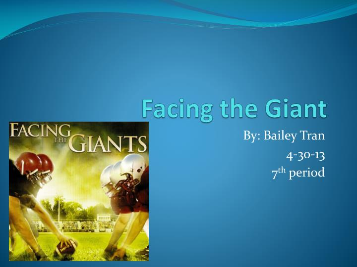 facing the giant n.
