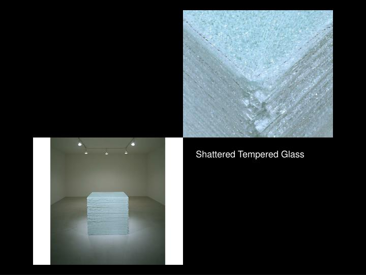Shattered Tempered Glass
