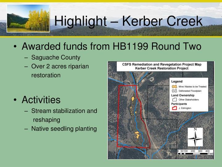 Highlight – Kerber Creek