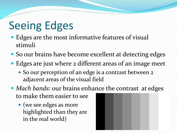 Seeing Edges