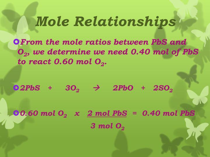 Mole Relationships