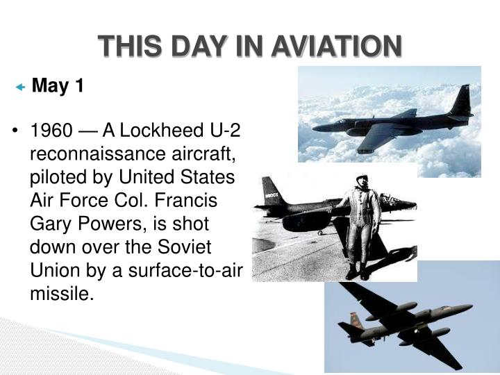 THIS DAY IN AVIATION