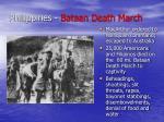 philippines bataan death march