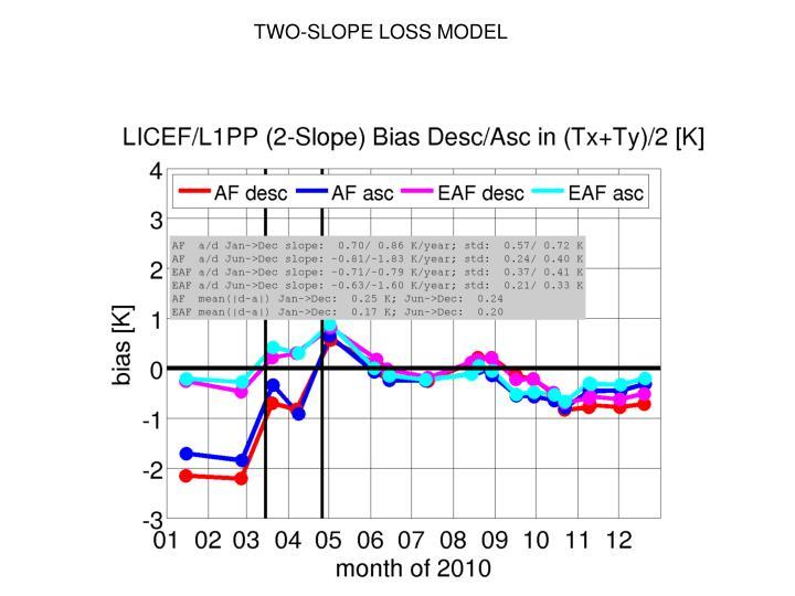 TWO-SLOPE LOSS MODEL