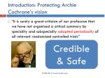 introduction protecting archie cochrane s vision1