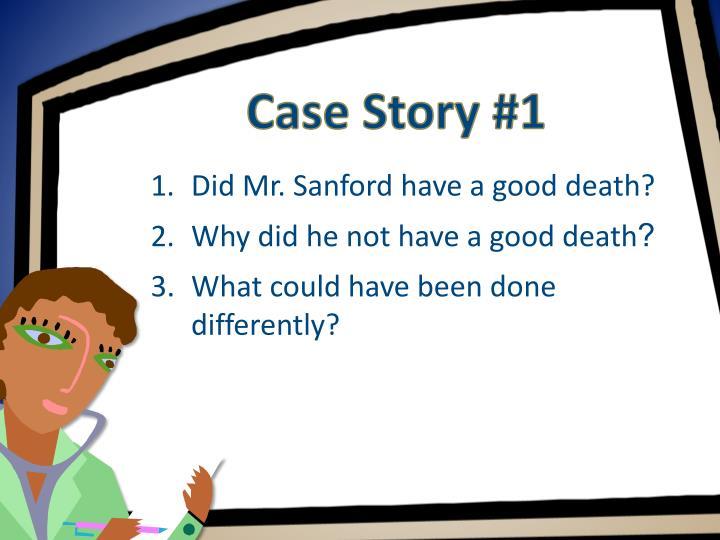 Case Story #1
