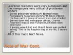 acts of war cont1