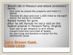 john brown cont 1800 1859