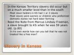 slavery in kansas