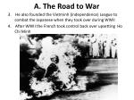 a the road to war