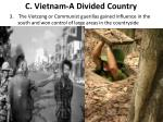 c vietnam a divided country1