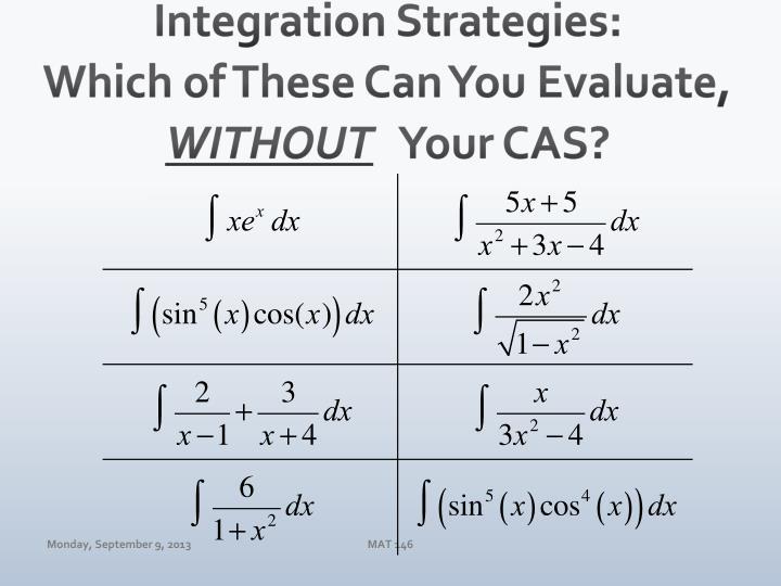 Integration Strategies: