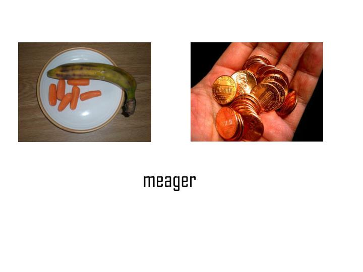 meager