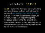 hell on earth 12 13 171