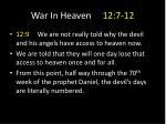 war in heaven 12 7 123