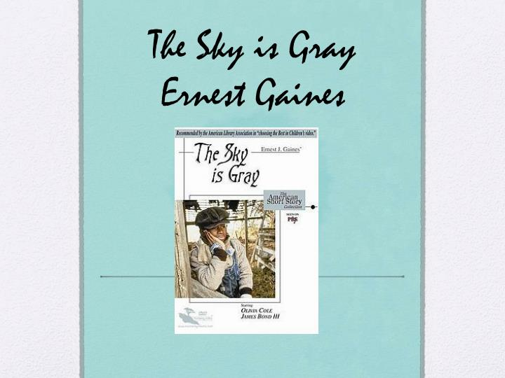 the sky is gray ernest gaines n.