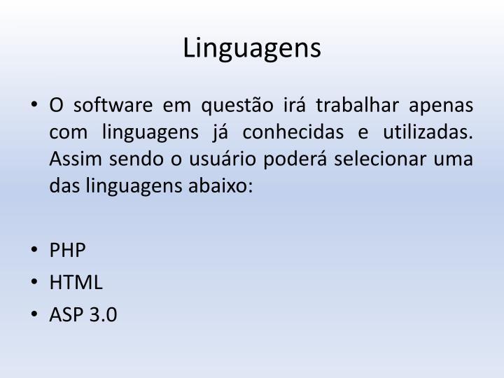 Linguagens