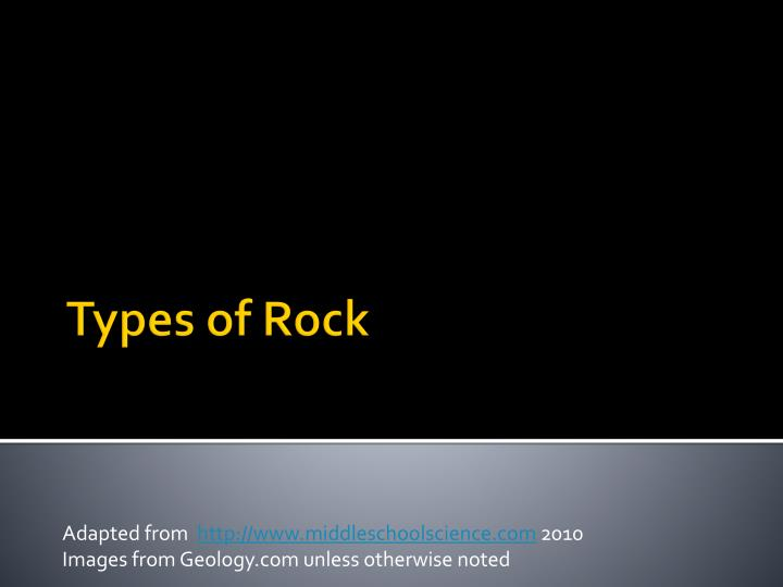 adapted from http www middleschoolscience com 2010 images from geology com unless otherwise noted n.
