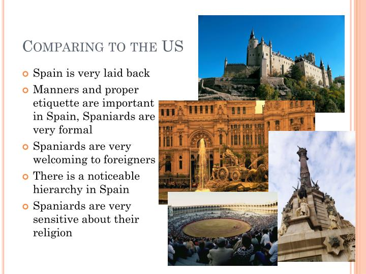 Comparing to the US