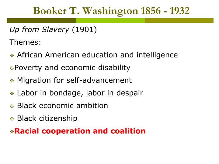 Booker t washington 1856 1932