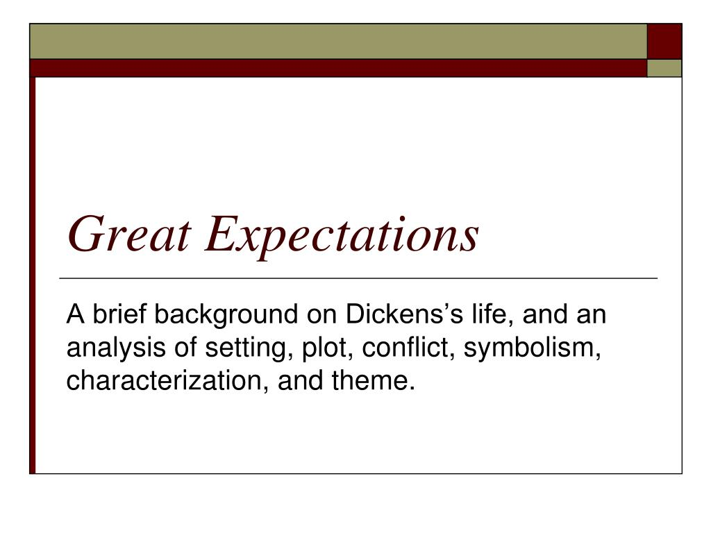 Ppt Great Expectations Powerpoint Presentation Id2422834