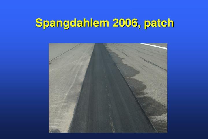 Spangdahlem 2006, patch