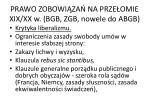 prawo zobowi za na prze omie xix xx w bgb zgb nowele do abgb