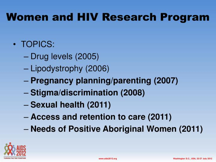 hiv and women of color Explore kaiser slides by topic disparities policy global health policy health costs health reform hiv/aids medicaid medicare other private insurance uninsured women's health policy.