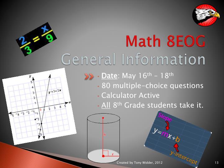 Math 8EOG