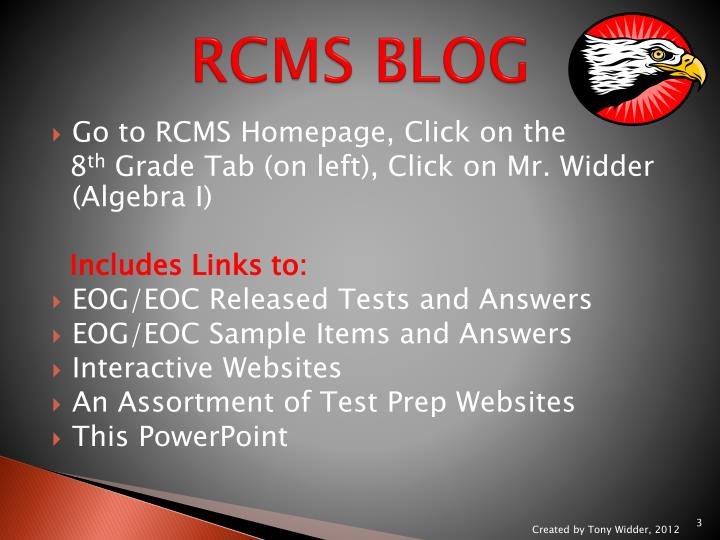Rcms blog