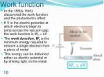 work function