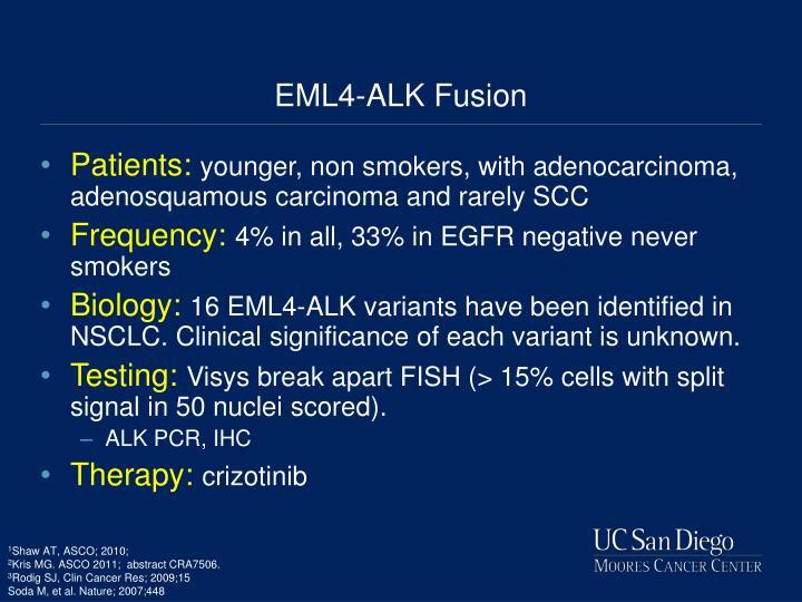 EML4-ALK Fusion