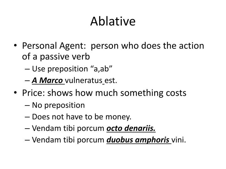Ablative