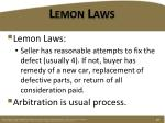 lemon laws1