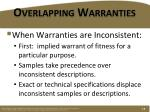 overlapping warranties1