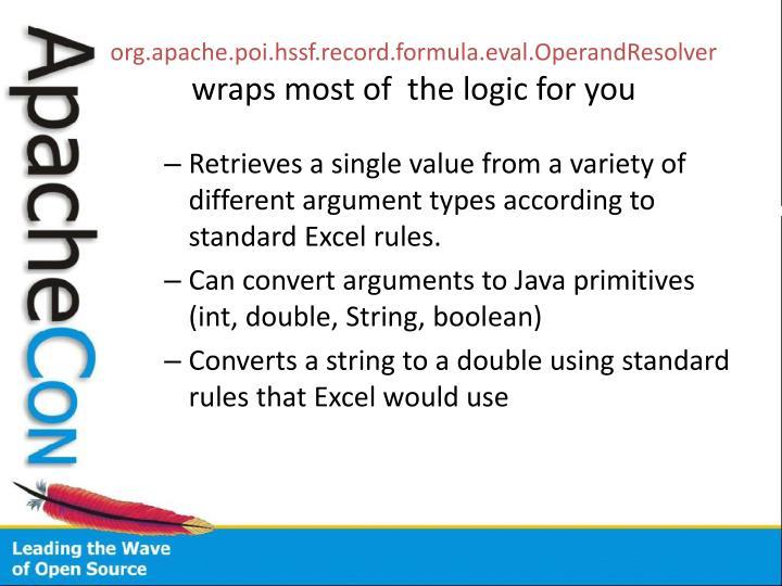 org.apache.poi.hssf.record.formula.eval.OperandResolver